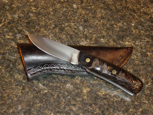 Custom Made 52100 Drop Point Hunter