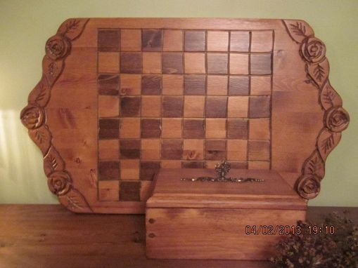Custom Made Checker Board Set