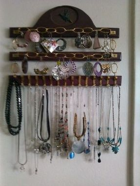 Custom Made Jewelry Rack