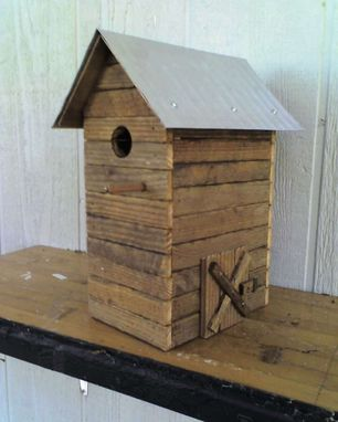 Custom Made Tobacco Barn Birdhouses