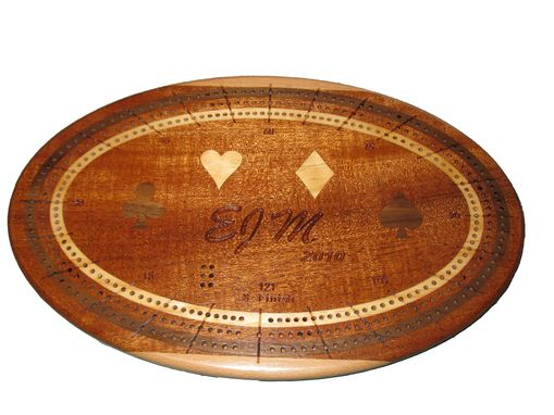 Custom Made Cribbage Boards