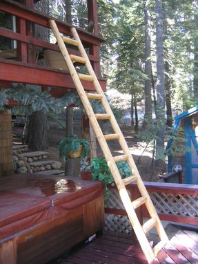 Custom Made Wood Ladder