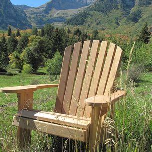 Adirondack Chair Kit By