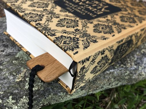 Custom Made Natural Wood Bookmark