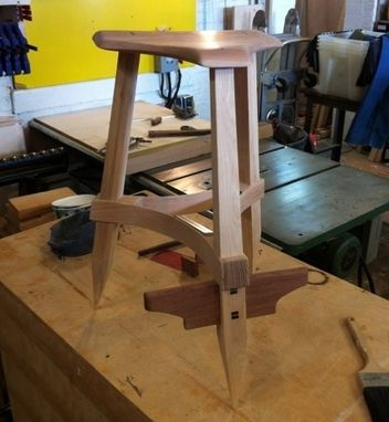 Custom Made Bentwood Workshop Stool