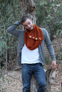 Custom Made Chunky Cowls With Handemde Buttons