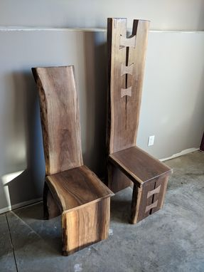 Custom Made King And Queens Dining Chairs