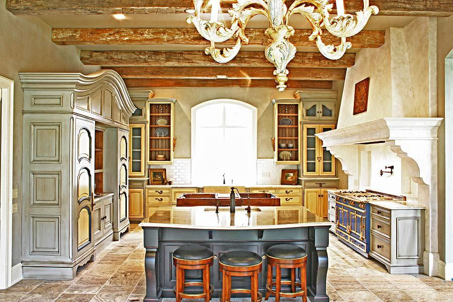 Custom Made French Provincial Kitchen by Wood Works Fine Custom ...