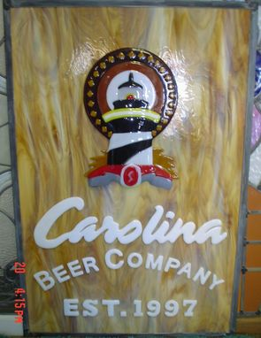 Custom Made Carolina Blonde Beer Label