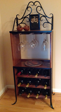Custom Made Wine Racks - Liquor Cabinets