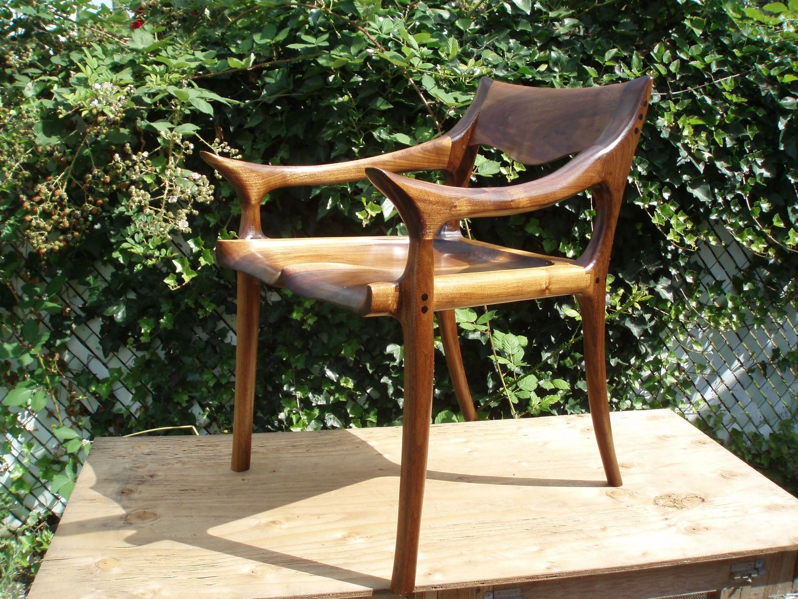 Custom Made Sam Maloof Inspired Dining Chair