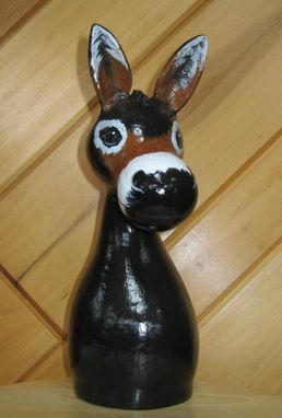 Custom Made Donkey Gourd Sculpture