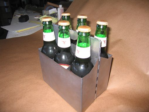Custom Made Metal 6 Pack