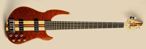 Custom Made The Meridian 5 Bass Guitar