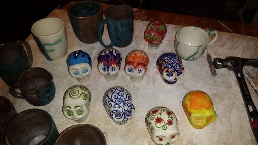 Custom Made Hand Painted Sugar Skulls