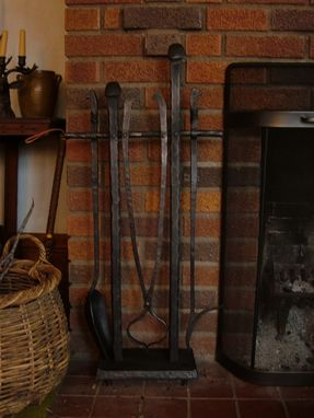 Custom Made Fire Place tools - hand forged, one of a kind