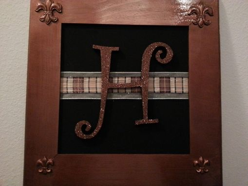 Custom Made Framed Monogram