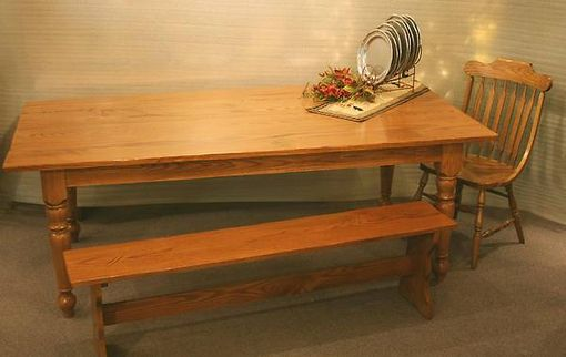 Custom Made Plank Table