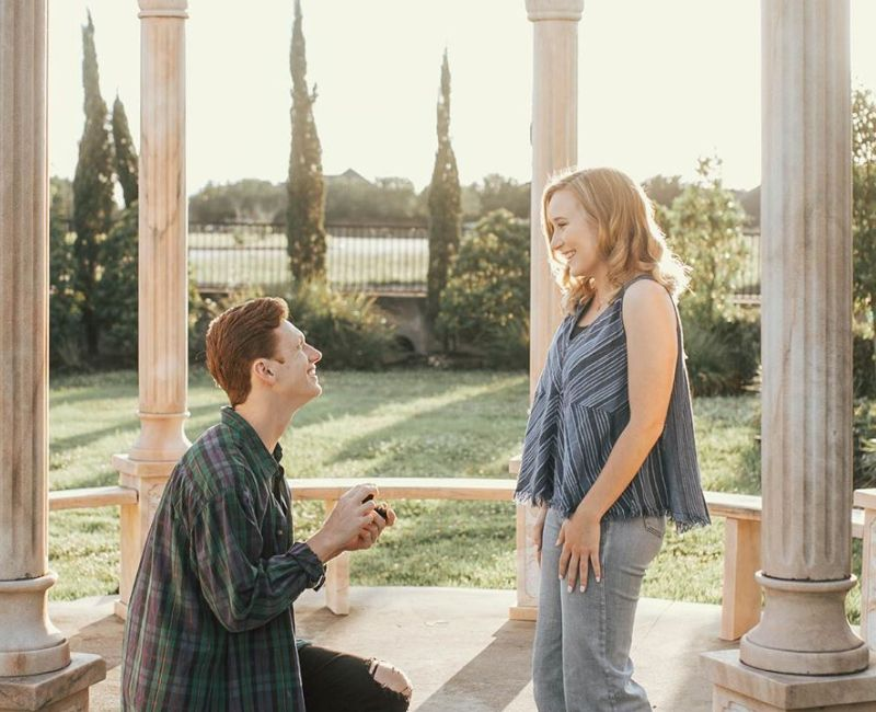 Jesse proposing to Stevie