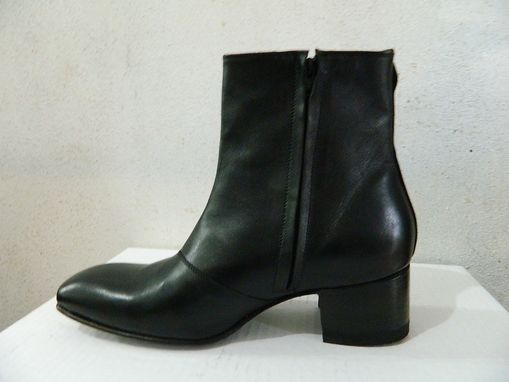 Custom Mens Dress Ankle Boots 2.5 Heels by Custom Boots ...