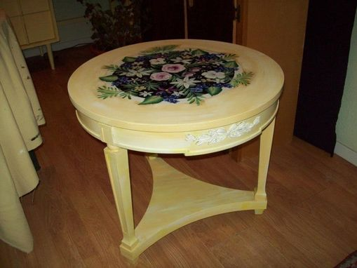 Custom Made Round Occassional Table