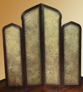 Custom Made Large Folding Screen