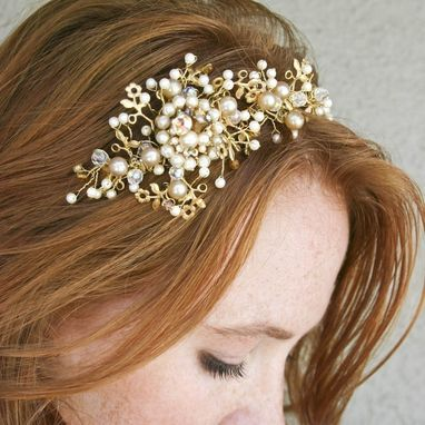 Custom Made Vintage Gold Tiara