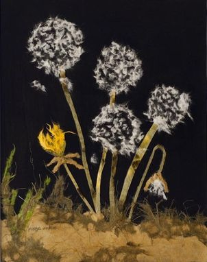 Custom Made Dandelions Painting