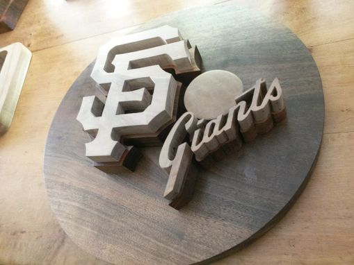 Custom Made San  Francisco Giants Logo