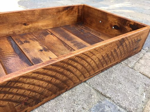 Custom Made Rustic Serving Tray Or Crate, Custom Sizes Available