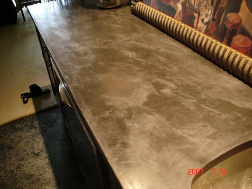 Custom Made Berg Bar Top