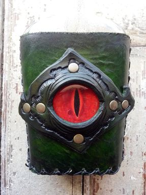 Custom Made Dragon Eye Flask