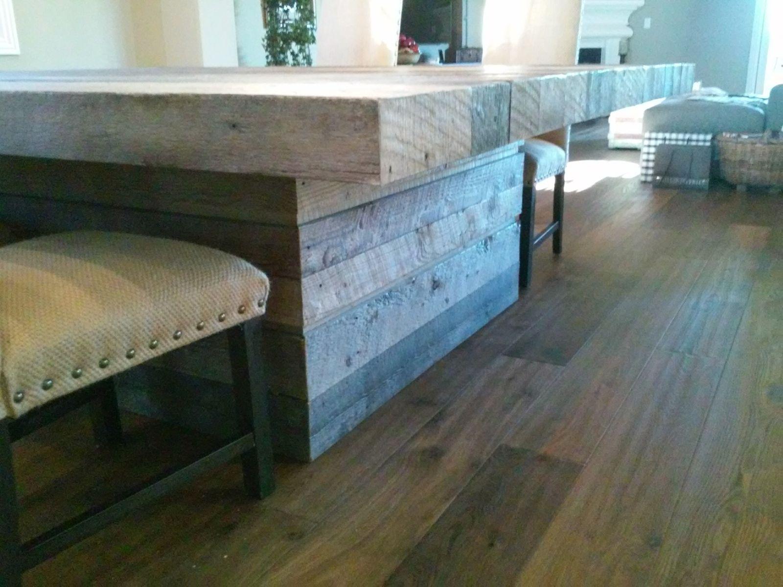 Custom Made Reclaimed Barn Wood Table by Santini Custom Furniture ...