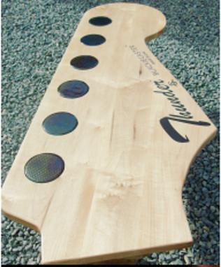 Custom Made Guitar Head Coffee Tables