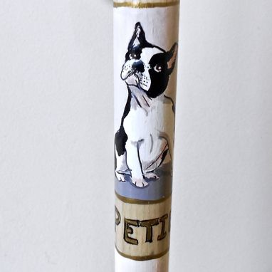 Custom Made Pet Portrait Custom Hand Made Walking Stick