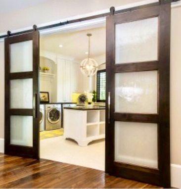 Buy a custom made modern 3 pane glass sliding barn door made to modern 3 pane glass sliding barn door eventshaper