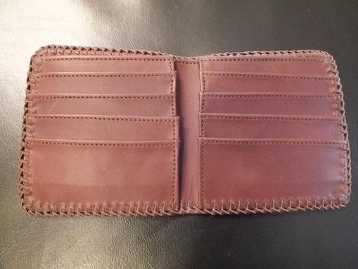 "Custom Made Close-Up On Inside ""Wildlife"" Wallet"