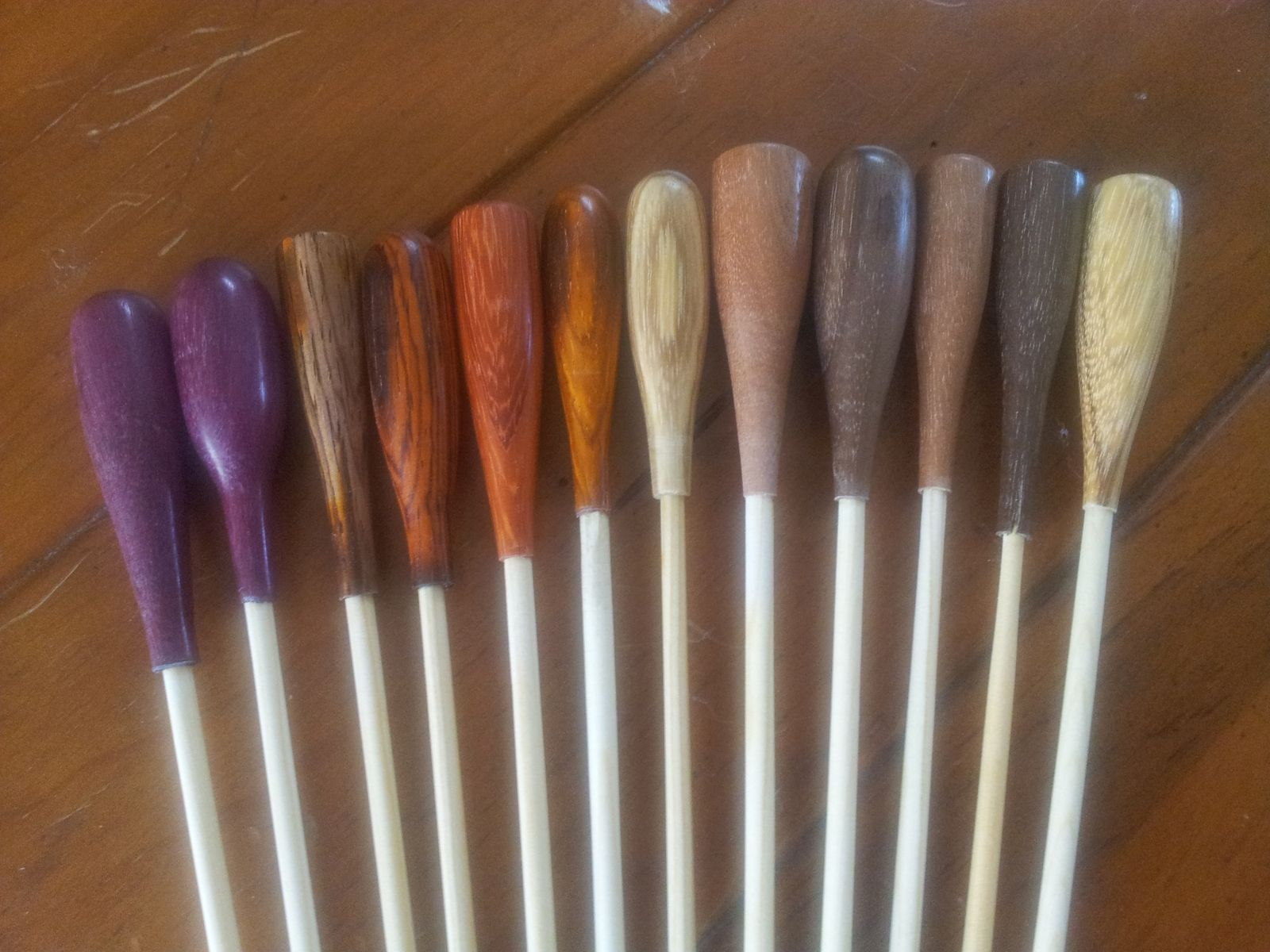 Hand Crafted Conductor S Batons By Fine Wine Woodworks